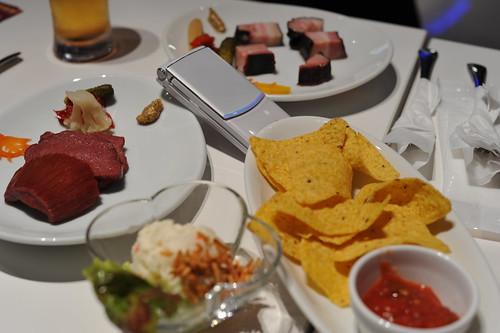 ガンダムカフェの食べ物