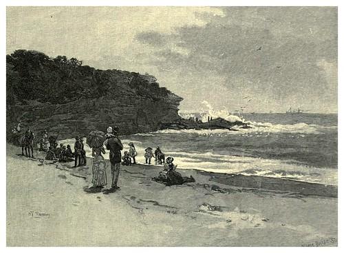 007-Bahia Coogee en Sydney-Australasia illustrated (1892)- Andrew Garran