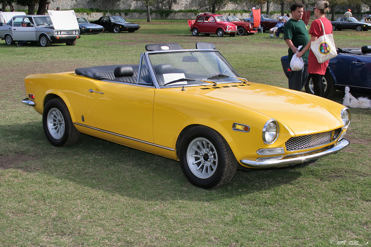 Fiat 124 Sport Spider 1 6 Group 4 1970 Racing Cars