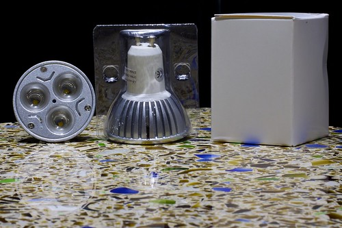 Cree 3x 3w LED GU10 120VAC lamps