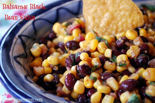 balsamic Black Bean Salsa - Page 484