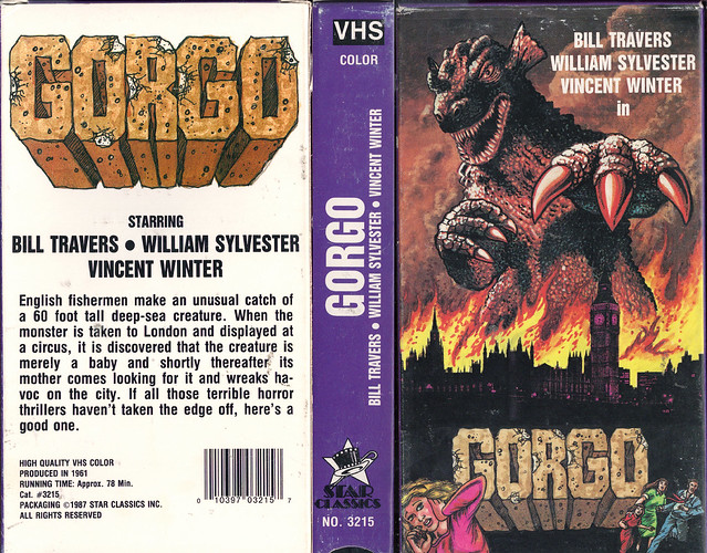 Gorgo (VHS Box Art)