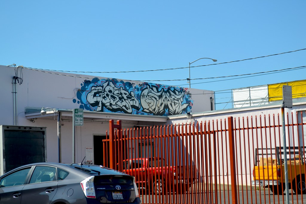 GOSER, OPTIMIST, POP, DE, UPS, Grraffiti, Street Art, Oakland