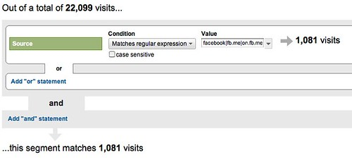 Find the value of your Facebook fan in Google Analytics.