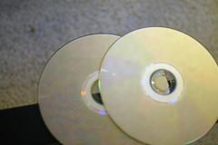 Broken BluRay movies (jchurch) Tags: broken movies netflix bluray
