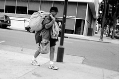 How would you write an argumentative essay on homeless people in San Antonio?