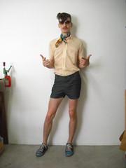13/01/09 TERÇA - São Paulo is hot. (Superfície Midiática ou Feliz Aniversário Mario) Tags: gay vintage ego arte rockabilly allstars lenço itália ferre brechó tergal casadequem máriomantovanni