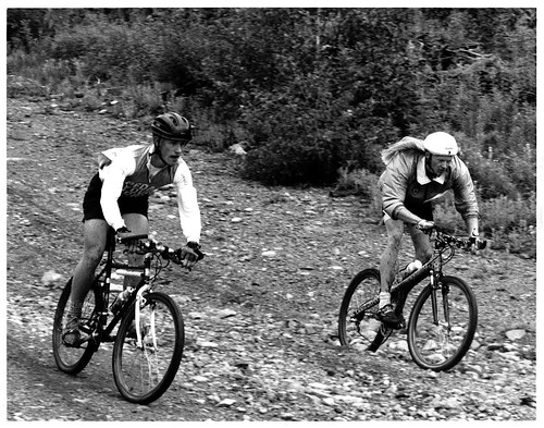 Me at the Mount Washington Classic MTB Race - circa 1990