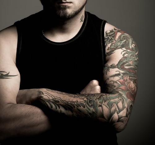 sleeve tattoos stars