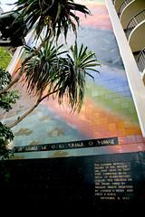 Rainbow Tower (*~fer~*) Tags: hawaii oahu rainbowtower hiltonhawaiinvillage