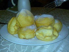 Fried Dough Balls with Red Bean Paste (Flash)
