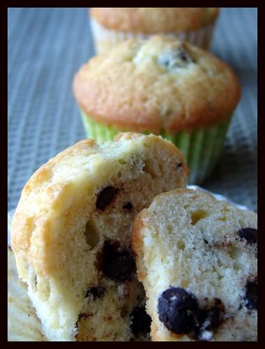 Vanilla Chocolate Chunk Muffins
