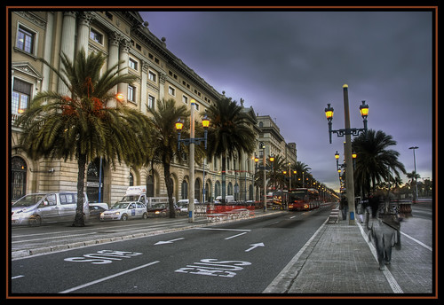 Paseo Colon (HDR)