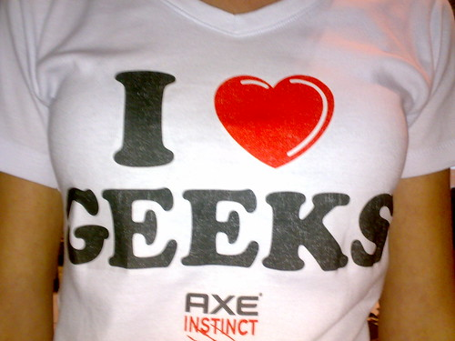 #cparty I love geeks