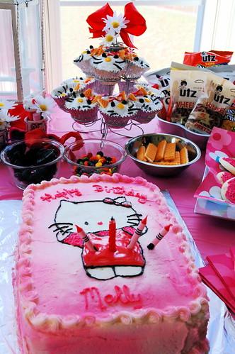 Hello Kitty Cake & Cupcakes