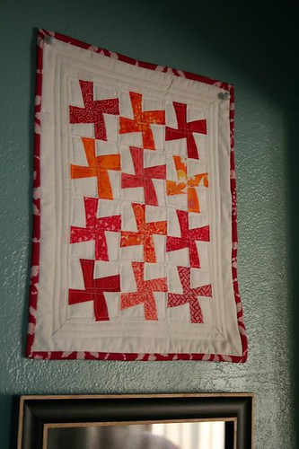 Rough draft quilt