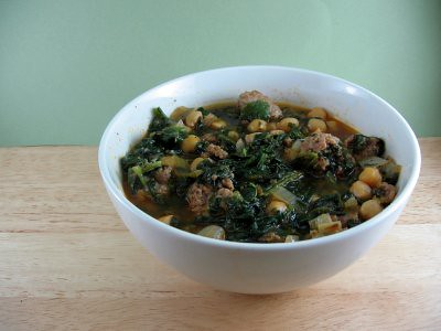Sausage and Chickpea Stew