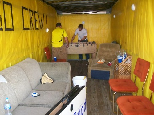 Columbus Crew Converted Trailer