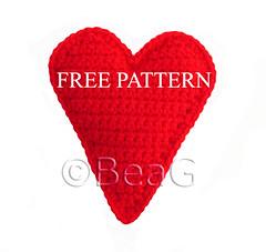 Pattern for Crocheted Heart (Patroon voor Gehaakt Hart) (Made by BeaG) Tags: original red love creativity design diy artist pattern heart belgium designer handmade unique oneofakind ooak kunst crochet belgi free valentine creation gift instructions crocheted redheart tutorial valentinesday unica brightred brightcolor unicum brightcolour beag freepattern valentinesgift crochetpattern kunstenares uniquedesign ontwerpster originaldesigner creativedesigner freecrochetpattern haakpatroon gratishaakpatroon freepatternforcrochetedheart designedandmadebybeag uniekontwerp ontworpenengemaaktdoorbeag