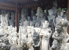 バリ島・石彫り