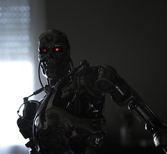 Terminator Cinemaquette T-800 #371 (bernov69) Tags: metal silver skeleton robot replica cameron terminator figurine 13 android t2 jamescameron terminator2 cyberdyne skynet cinemaquette judgmentday 60cm 24inches t800 endoskeleton toynami efs1755usmis cyberdynesystems canonefs1755 canon40d endoskelleton skynetcyberdyne