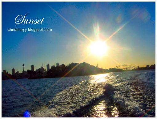 Sydney Harbour: Sunset