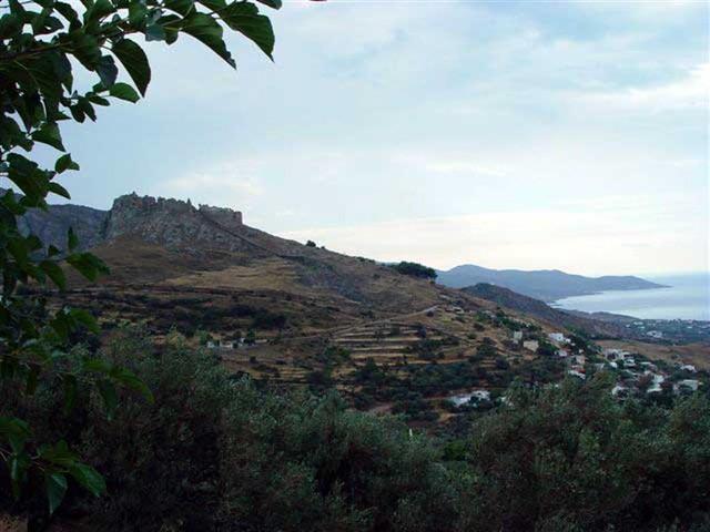 Στερεά Ελλάδα - Εύβοια - Δήμος Καρύστου Το Καστέλο Ρόσο από τη Μεκουνίδα, Κάρυστος, Εύβοια