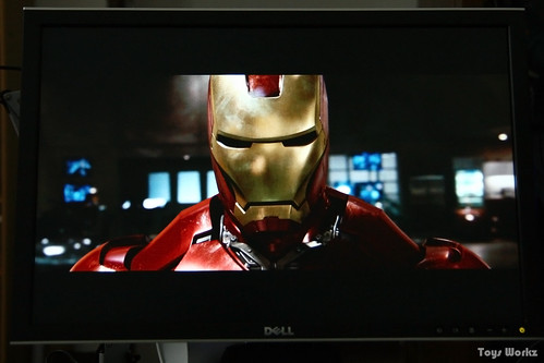 Dell 2408WFP with Ironman 1080 BD playing
