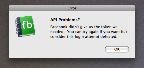 API Problems?