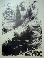 BITE THE HAND... (DUALSTREETS) Tags: streetart poster texas grafitti wheatpaste houston dual