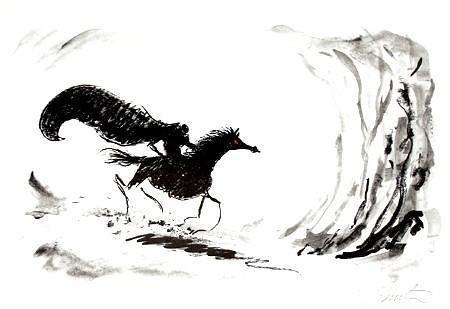 蒂姆伯顿手稿/经典插画