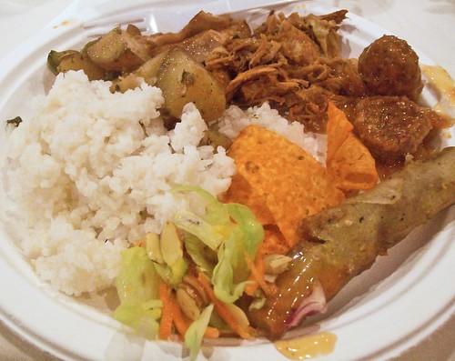 Hawaiian Wedding Food