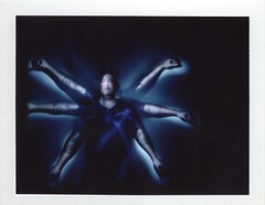 l'homme de Vitruve (sdzn) Tags: lightpainting polga vitruve