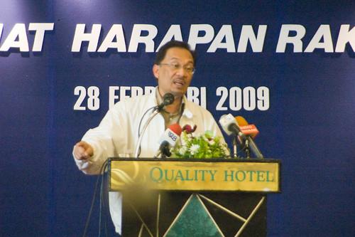 Anwar Ibrahim di Amanat Harapan Baru by Anwar Ibrahim.