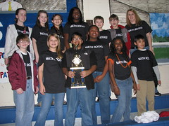 6th Grade Math Team Wins Trophy