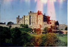Culzean Castle, Ayrshire (1987) (Brownie Bear) Tags: uk castle scotland britain south united great kingdom gb carrick ayrshire culzean tarbolton