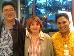 Art Harris, Cleo Brown, Capsun Poe at ING Cafe in Waikiki