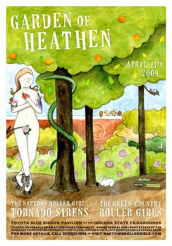 Garden of Heathen-poster-final