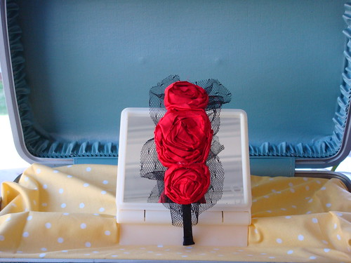 Fancy Silk Rosette