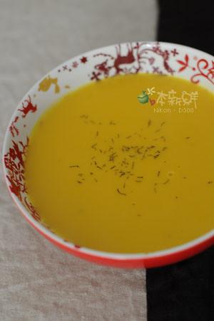 法式南瓜湯