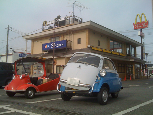 BMW isetta in McDonald's [Apr. 04. 2009]