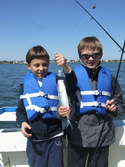 Joe and Matthew with a Blue Runner