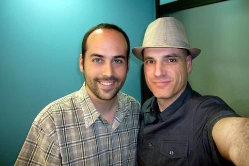 Víctor Alfaro y Chema Lara