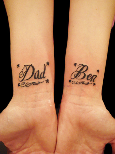 Tattoo Lettering - design your own tattoo lettering using tattoo fonts .
