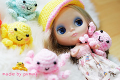 Squidy Crochet hat & Toy