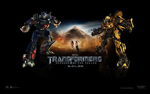 Wallpaper Transformers 2 Egipto