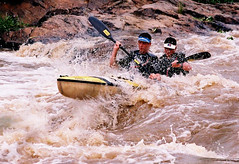 White water frenzy (stofpix) Tags: white water natal race river boat marathon paddle canoeing splash rapid dusi
