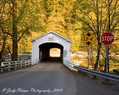 Goodpasture Covered Bridge (RU4SUN2) Tags: history oregon centraloregon coveredbridges lanecounty kissingbridge goodpasturecoveredbridge lanecountyoregon oregoncoveredbridges