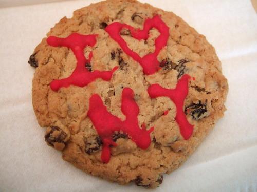 i <3 NY Cookie