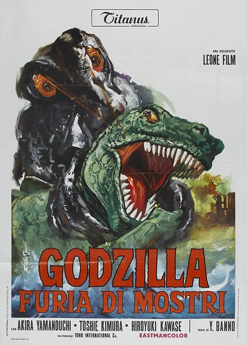 GODZILLA VS THE SMOG MONSTER(ITALIAN)